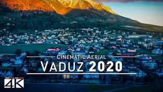 【4K】Vaduz from Above - Capital of LIECHTENSTEIN 2020   Cinematic Wolf Aerial™ Drone Film