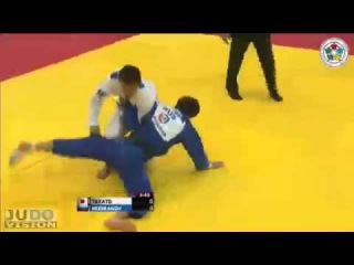 Judo World Masters Tyumen 2013: Naohisa TAKATO (JPN) - Beslan MUDRANOV (RUS) Semi Final [-60kg]