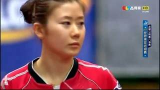 2015 Polish Open WS-QF: LIU Shiwen - FUKUHARA Ai [HD] [Full Match/Chinese]
