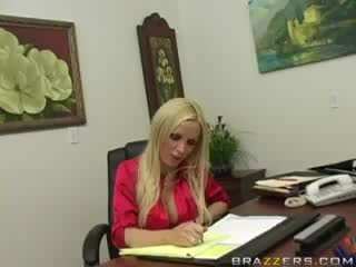 BRAZZERS - Big Tits At Work - Nikki Benz (A Very Oral Interview) - 11,09,2008
