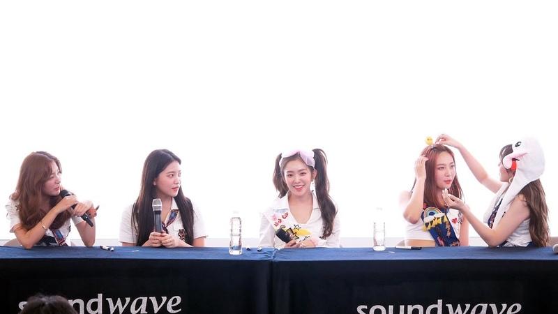 4K 180818 Red Velvet 레드벨벳 Summer Magic Power Up 미니앨범 팬사인회 클로징 스타필드 고양 직캠 Fancam by PIE