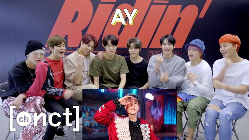 NCT 127 REACTION to 'Ridin MV   NCT 127 ➫ NCT DREAM