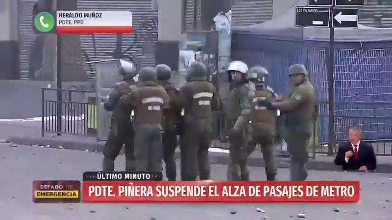 Rige Estado de Emergencia en medio de graves disturbios en diferentes puntos de la capital. 24Play