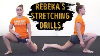 TOP 7 Rebeka Koha's Favorite Leg Stretching Drills