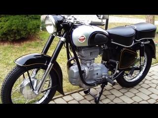 Мотоцикл simson awo sport, 1959 года