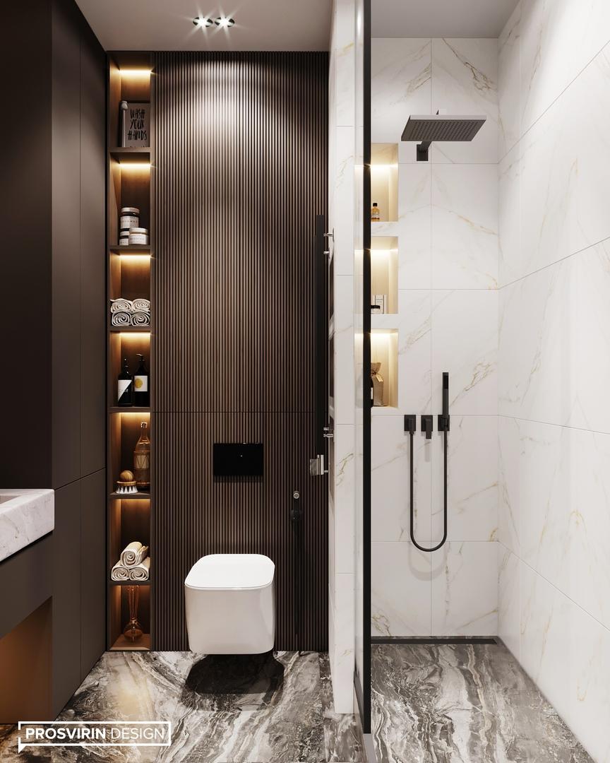 Дизайн квартиры в Москве, 44 кв.