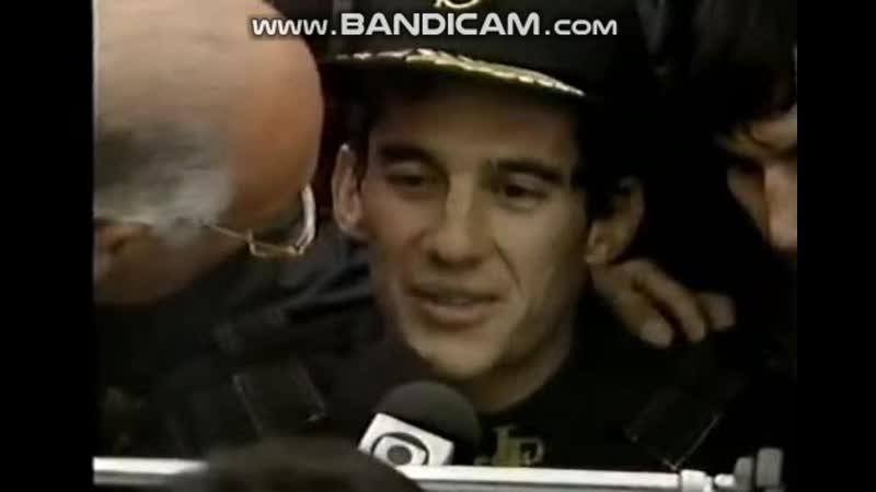 Portugal 85, Ayrton Senna vol 3, interview 2 Murrey Walker