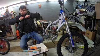 Avantis FX 250 Lux. Ремонт электропроводки на новом мотоцикле