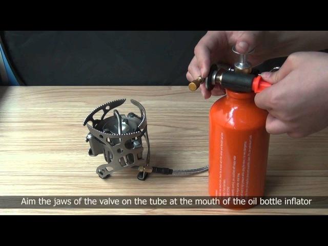 Как подготавливается и чистится мультитопливная горелка