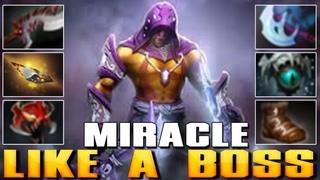 MIRACLE [Anti-Mage] Like A Boss | Best Pro MMR - Dota 2