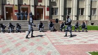 Показательные выступления отделения специального назначения УФССП России по Тульской области