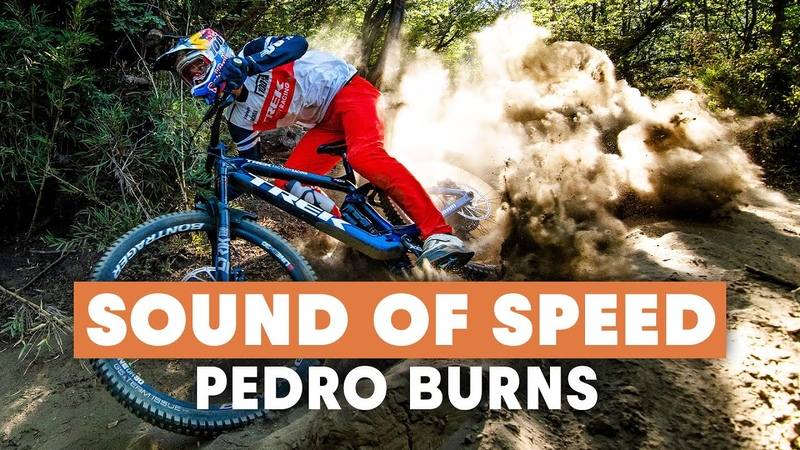Raw MTB Pedro Burns Hammering Through The Streets of Chile Sound Of Speed