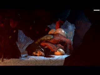 Tomb raider - lara croft .3d porn.hentai.xxx.порно,лару крофт трахает йети.хента