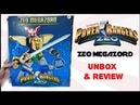 Power Rangers Zeo Megazord | Unboxing Review