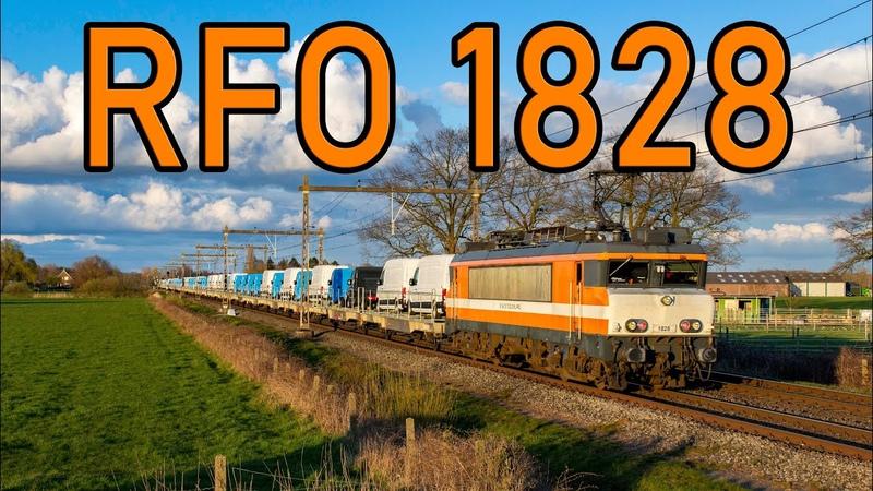 RFO 1828 met Craftertrein door Teuge 4K