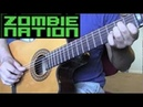 Zombie Nation - Kernkraft 400 Acoustic Guitar
