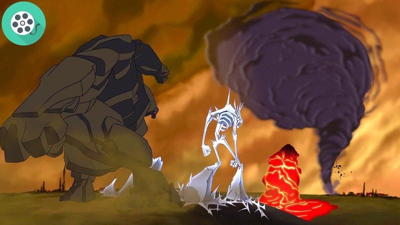 Аид освобождает титанов. Геркулес 1997 год.