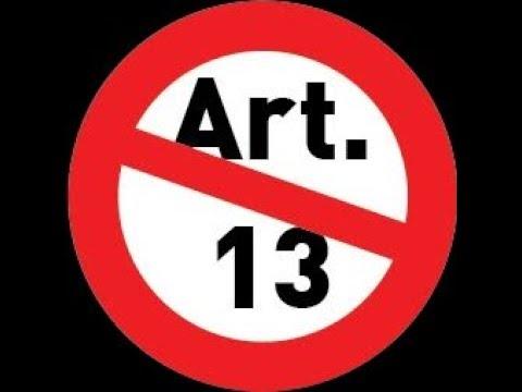 GER Anonymous Operation 13 Artikel 13 Uploadfilter Op13 SaveYourInternet Artikel13