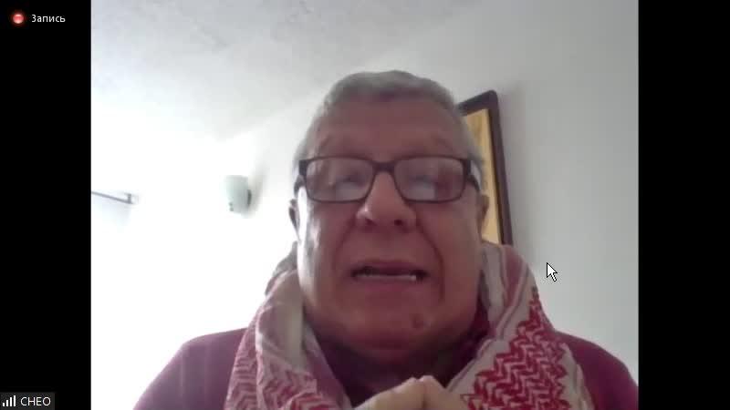 Речь компаньеро Чео бывший боец Cимон Боливар Бригады моренистов