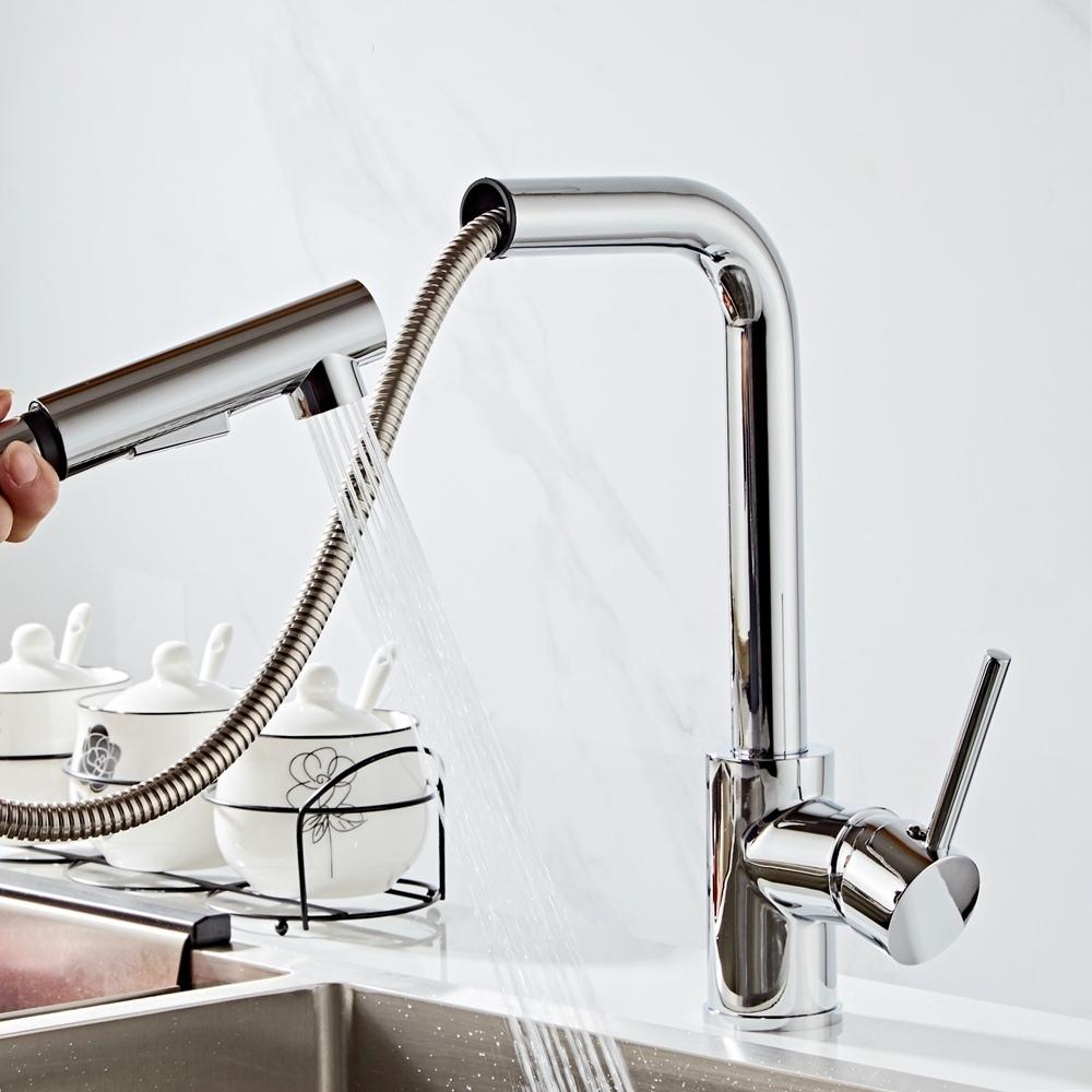 Удобный кухонный смеситель -
