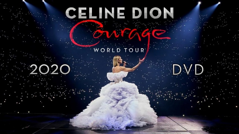 Céline Dion Courage 2020 DVD