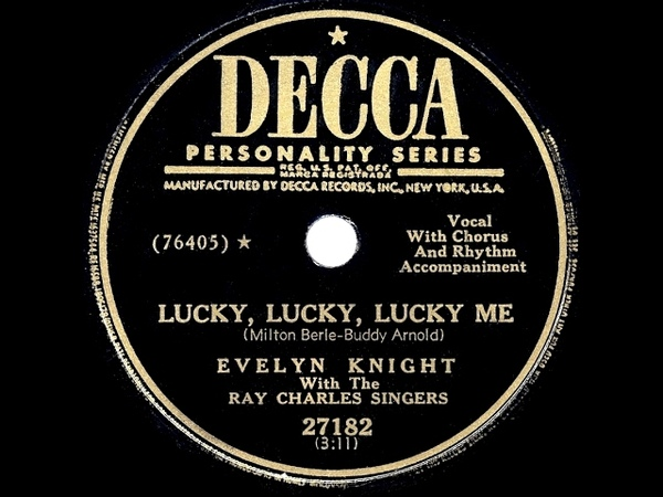 Hyundai song-1950 HITS ARCHIVE: Lucky, Lucky, Lucky Me - Evelyn Knight