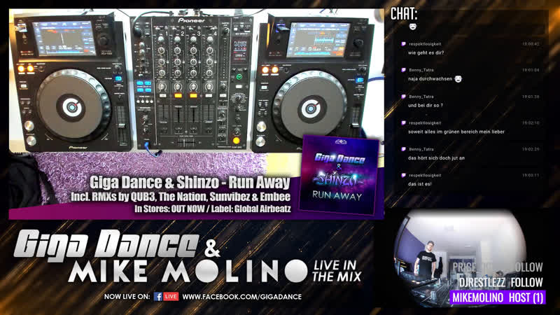 Giga Dance live in the Mix Vol 76 w Mike Molino HandsUp Hardstyle DJ GER ENG