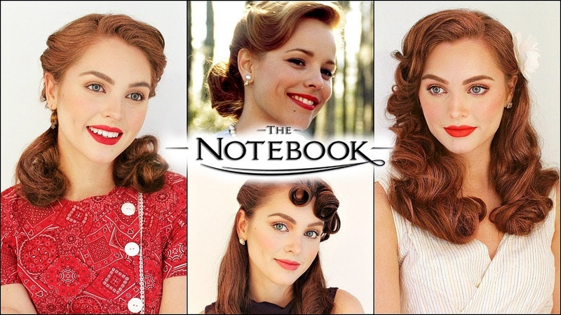 Allie hamilton the notebook vintage hairstyles 40's