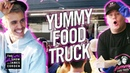 Justin Bieber James Corden's Yummy Food Truck