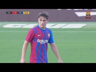 Pablo Paez Gavi Barcelona | Pre-season 21/22