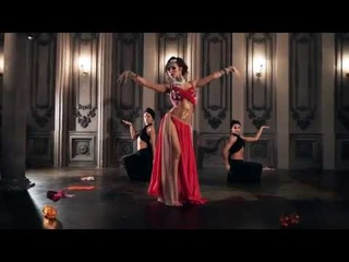 Beauty arabic east dance - Belly Violett Show 1001 and one night