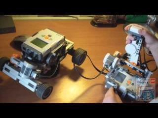 LEGO NXT Joystick и HiTechnic Car