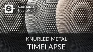 Substance Designer - Knurled Metal