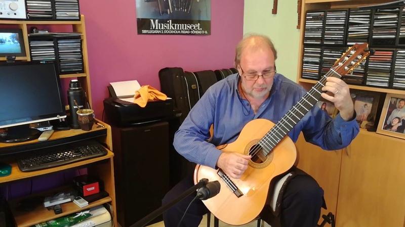 Preludio Suite en la menor Manuel María Ponce por Enrique Bocaccio Guitarra