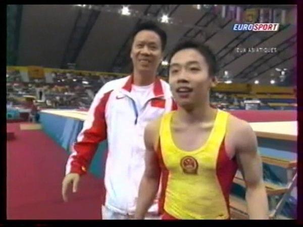 ZOU Kai CHN floor 2006 Asian Games Doha EF