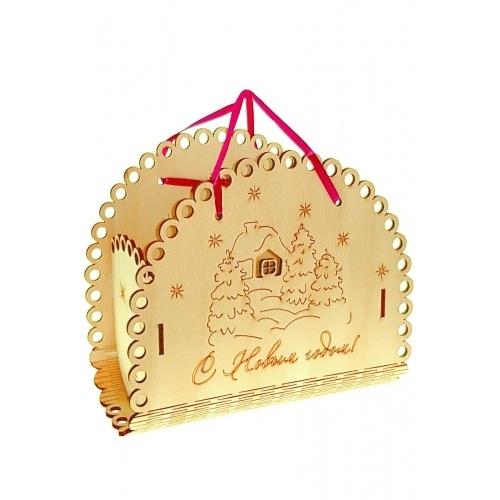 Корзинка для упаковки подарков купить в Москве