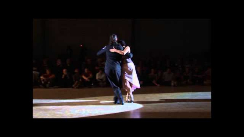 TANGO FESTIVAL SAINT GENIEZ D'OLT 2013 Erna et Santiago GIACHELLO candombeando