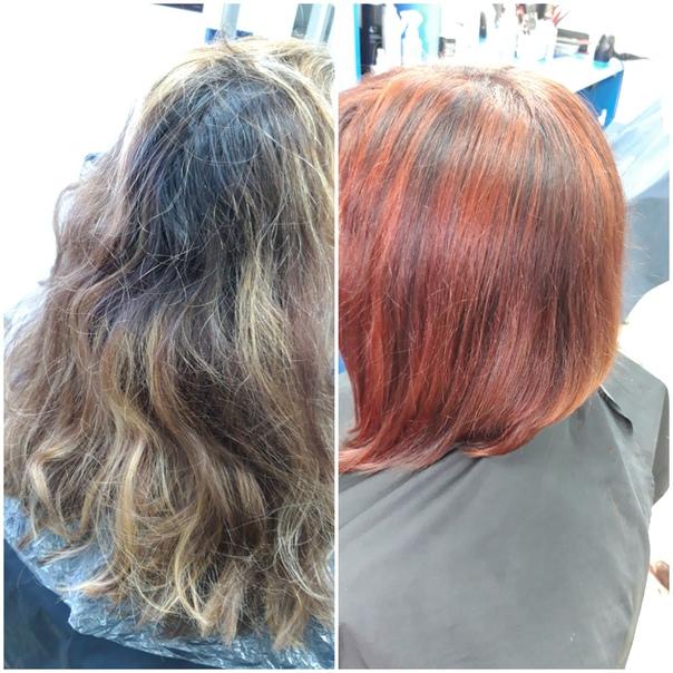 того, чтобы курсовая парикмахера фото до и после своему