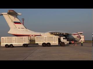 Самолет ИЛ-76 МЧС России вылетел из Саратова в Ливан