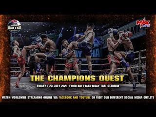 FULL FIGHT | THE CHAMPION MUAY THAI | 23 JULY 2021 | ENGLISH