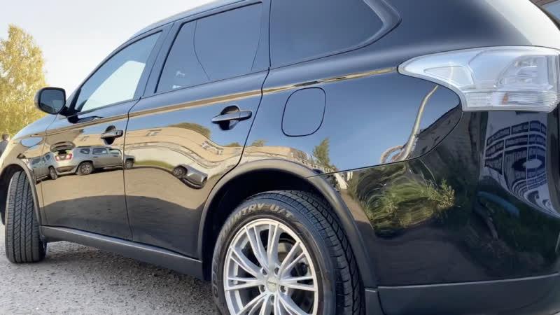 Полировка и покраска Mitsubishi Outlander XL в автоцентре Энергия