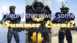 I heard there was some Summer event? (Planetside 2)