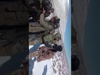 Еще одно видео массовой драки китайских и индийских военных в Ладакхе