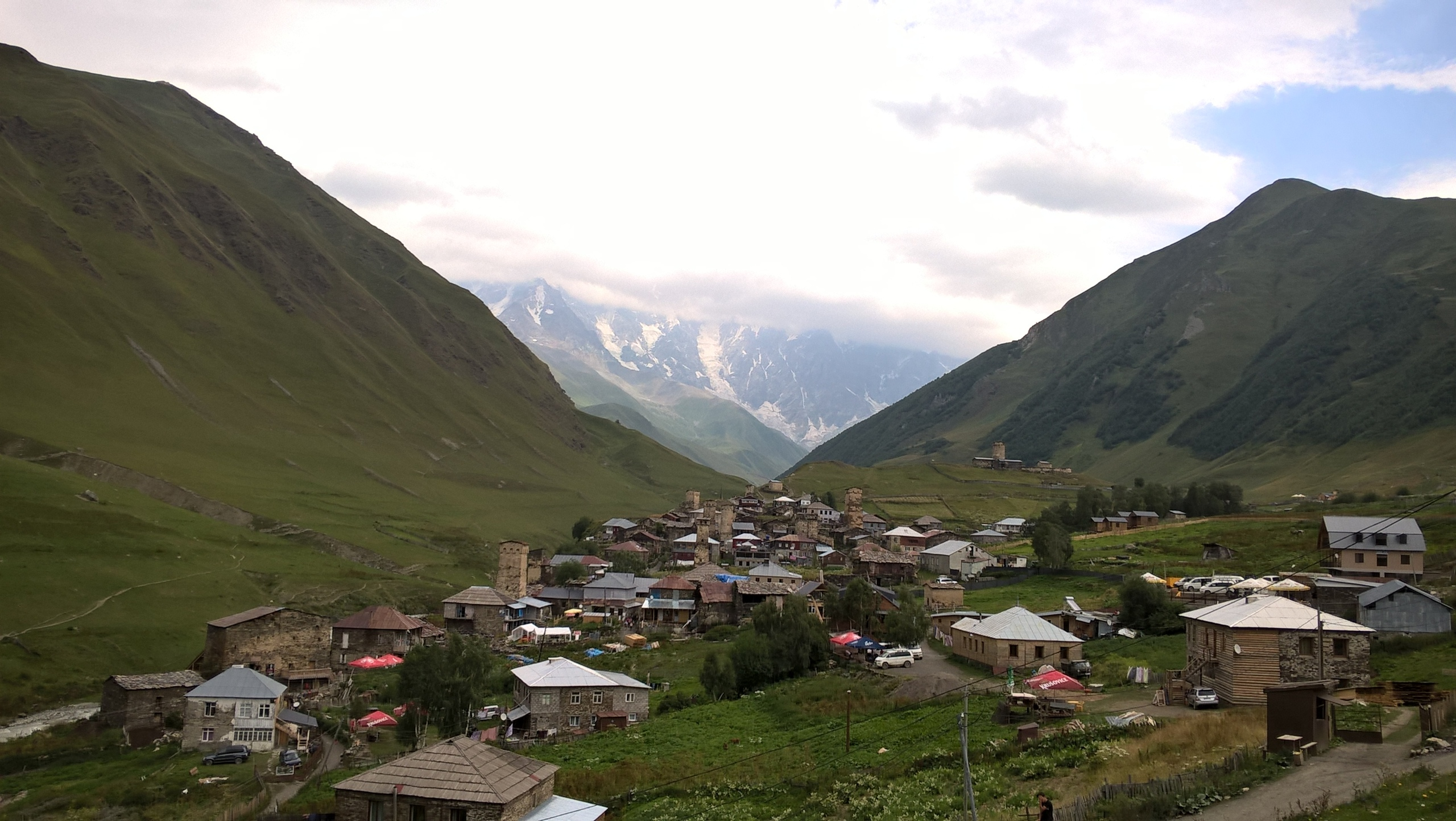 Верхняя часть общины Ушгули