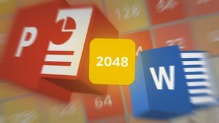Делаю РАБОЧИЕ ИГРЫ в PowerPoint, MS Word (2048)