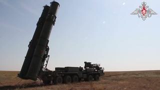 Испытательные боевые стрельбы ЗРС С-500 на полигоне Капустин Яр