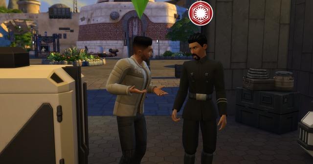 «The Sims 4 Star Wars: Путешествие на Батуу» — о фракциях и репутации подробно