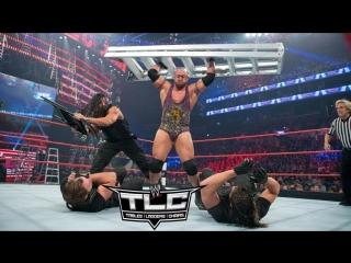 (wwe mania) tlc 2012 ryback & team hell no vs. the shield (tag team tlc match)