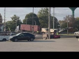 Pendleton, Indiana semi-train crash