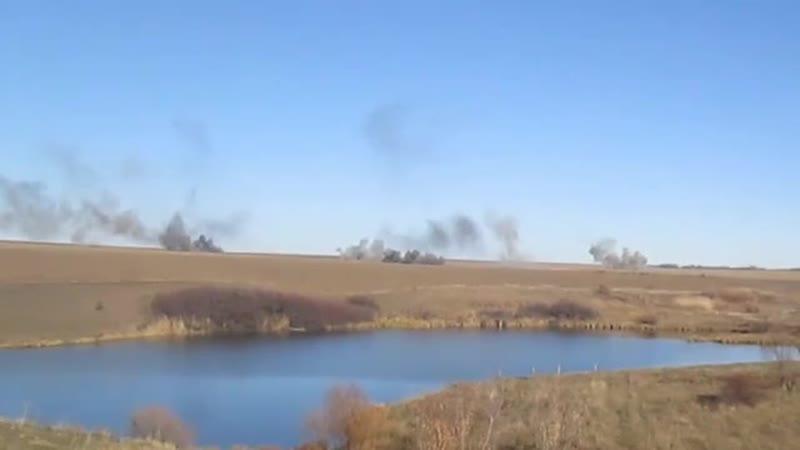 Массированный обстрел Горловки и окраин сегодня утром